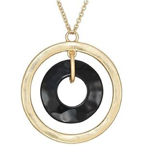 Robert Lee Morris Soho Orbital Pendant Necklace